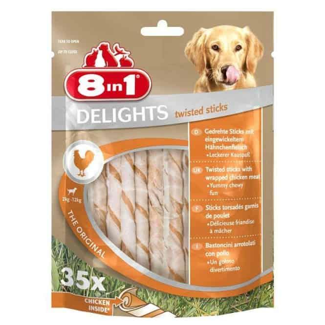 8in1 Delights Twisted Sticks 35 Stück
