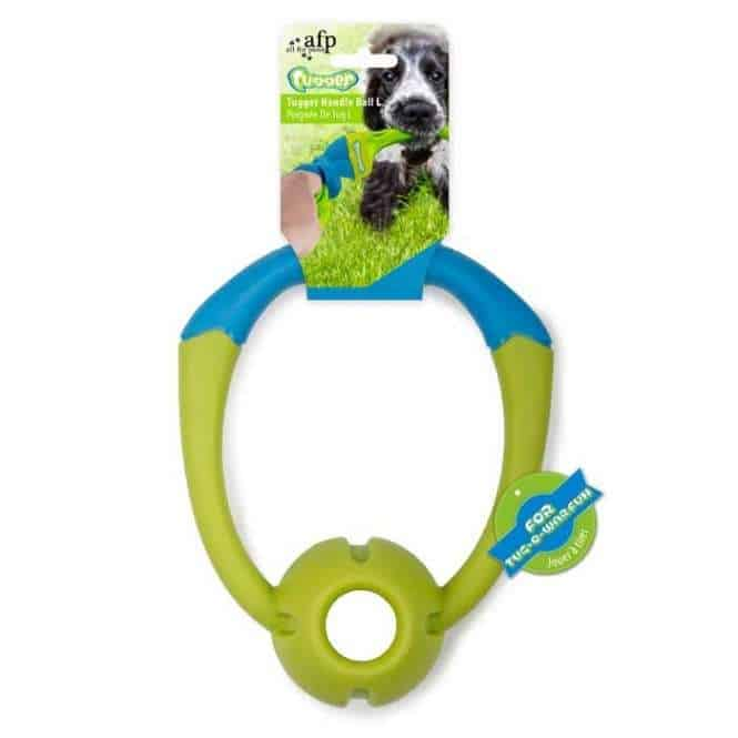 All for Paws Tugger - Handle Ball, Ball mit Zerrgriff Gr. L