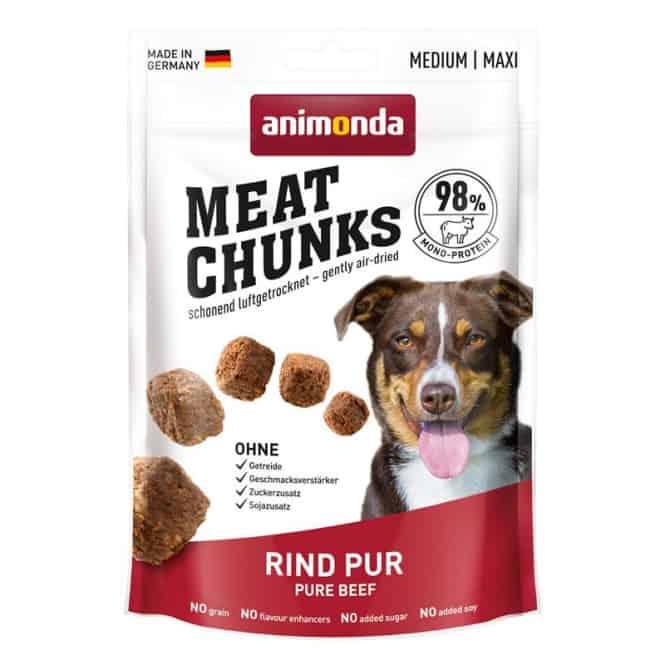 Animonda Snack Meat Chunks Rind pur 60g