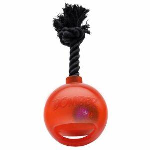 Bomber Bomb mit Griff und LED by Zeus Orange