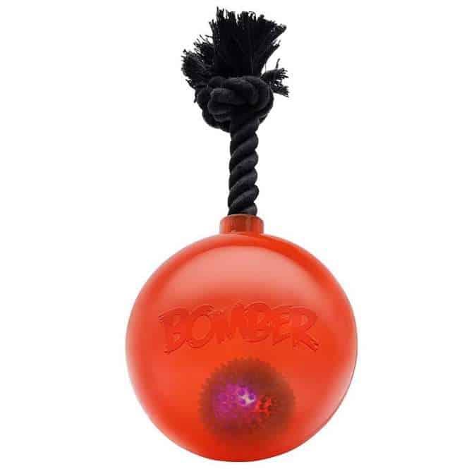 Bomber Bomb mit LED by Zeus Orange