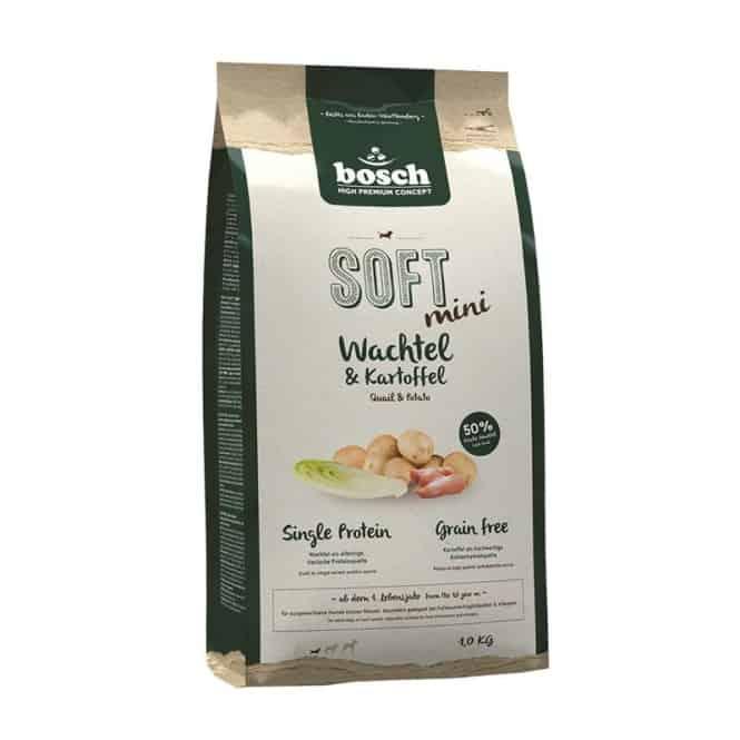 Bosch Soft Mini Wachtel & Kartoffel 2,5 kg