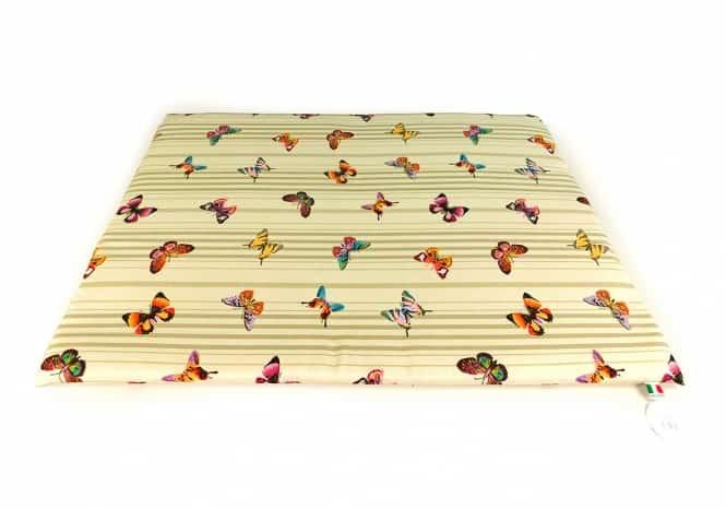 CARBONE Hundematte Mattress, 60 x 80 cm Schmetterlinge
