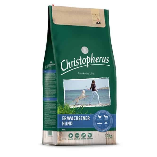 Christopherus Erwachsener Hund Geflügel,Lamm, Ei & Reis 12 kg