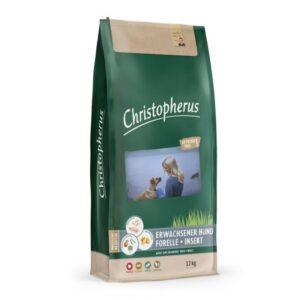Christopherus Getreidefrei Forelle & Insekt 12 kg