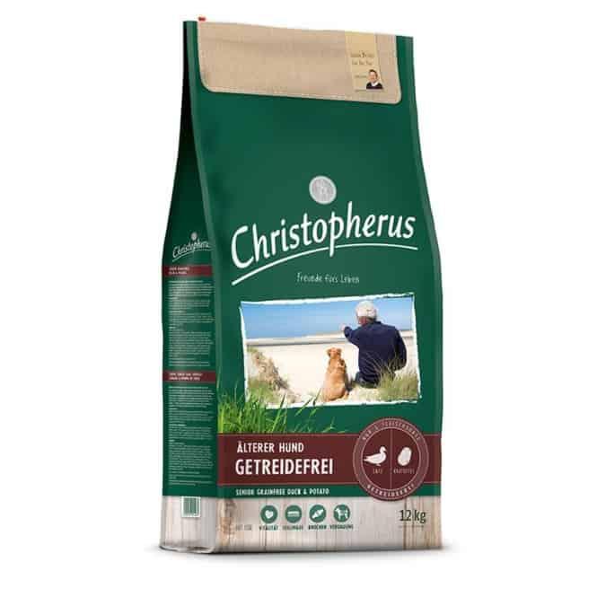Christopherus Getreidefrei Senior Ente + Kartoffel 4 kg