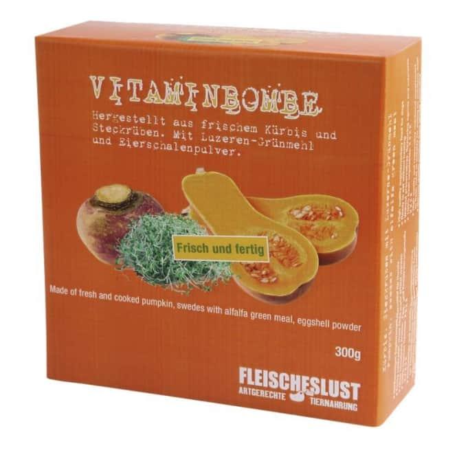 Fleischeslust Vitaminbombe mit Kürbis & Luzernegrünmehl 300g