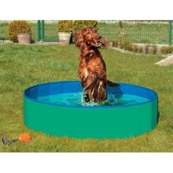 Karlie DOGGY POOL der Swimmingpool für Hunde - Grün-Blau 80 cm