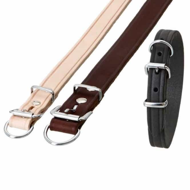 Karlie RONDO Halsband mit Zugentlastung - Schwarz, 70 cm