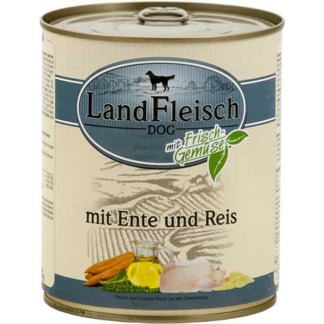 Landfleisch Classic Ente & Reis mit Frischgemüse 400 g