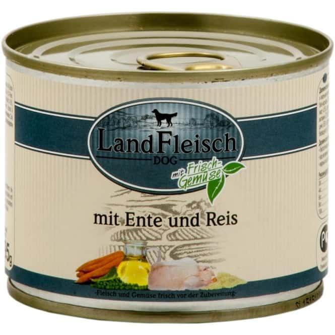 Landfleisch Classic Ente & Reis mit Frischgemüse 800 g