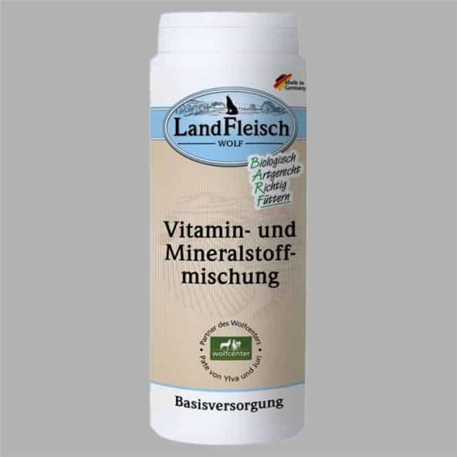 Landfleisch Wolf Vitamin-, Mineralmischung 250g