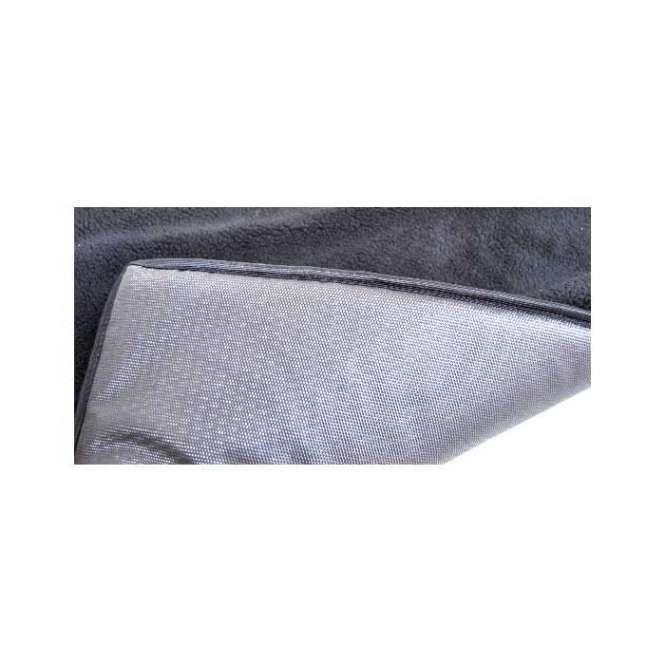 Lebon Thermomatte Bask - schwarz 120 x 80 cm