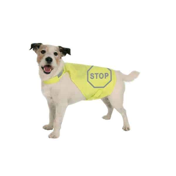 MAXI SAFE Sicherheitsweste für Hunde, Rückenlänge 35 cm
