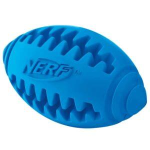 NERF DOG Teether Football zur Zahnpflege Mittel