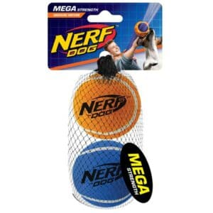 NERF DOG Tennis Balls megastark 6,4 cm / 2 Stück