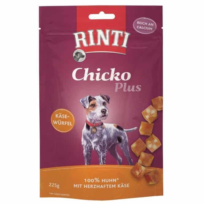 Rinti Chicko Plus Käsewürfel Huhn 225g