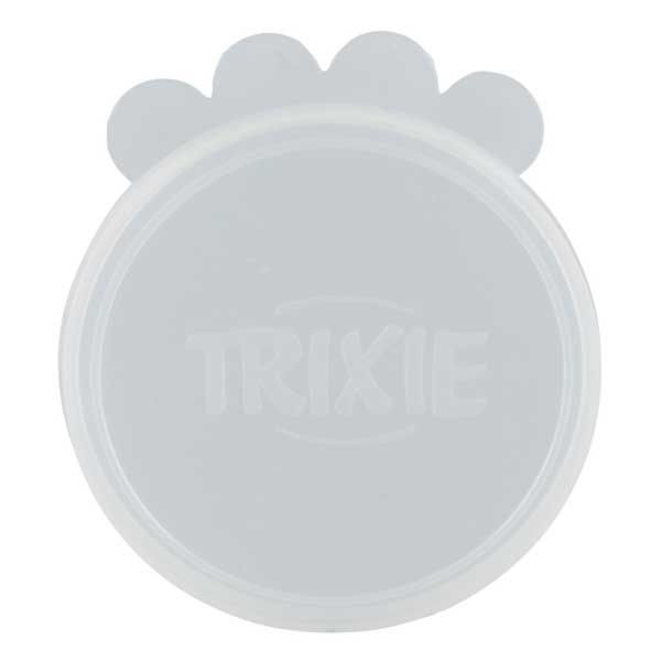 Trixie Dosendeckel aus Silikon - transparent 7,6 cm