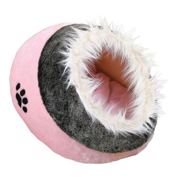 Trixie Kuschelhöhle Minou - rosa/grau