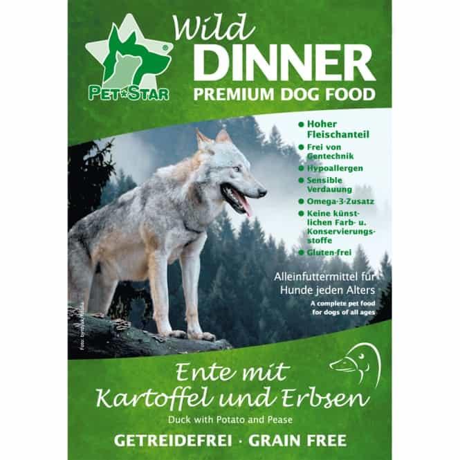 Wild Dinner Ente - Getreidefrei 12 kg